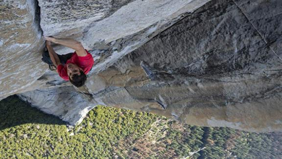 "Best documentary — feature: ""Free Solo"""