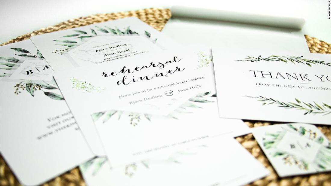 Wedding Invitations: Thank-you Notes, Save-the-dates, RSVP