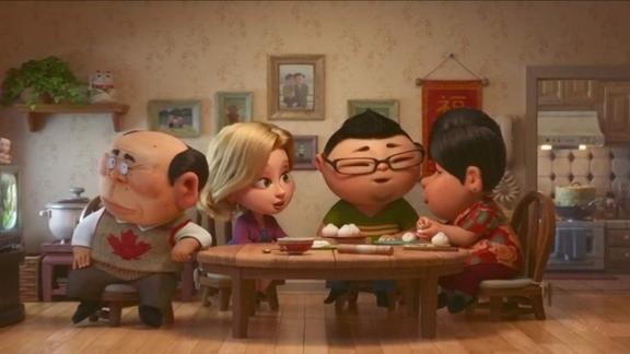 "Best animated short film: ""Bao"""