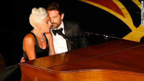"Lady Gaga and Bradley Cooper perform ""Shallow"" from ""A Star Is Born."""