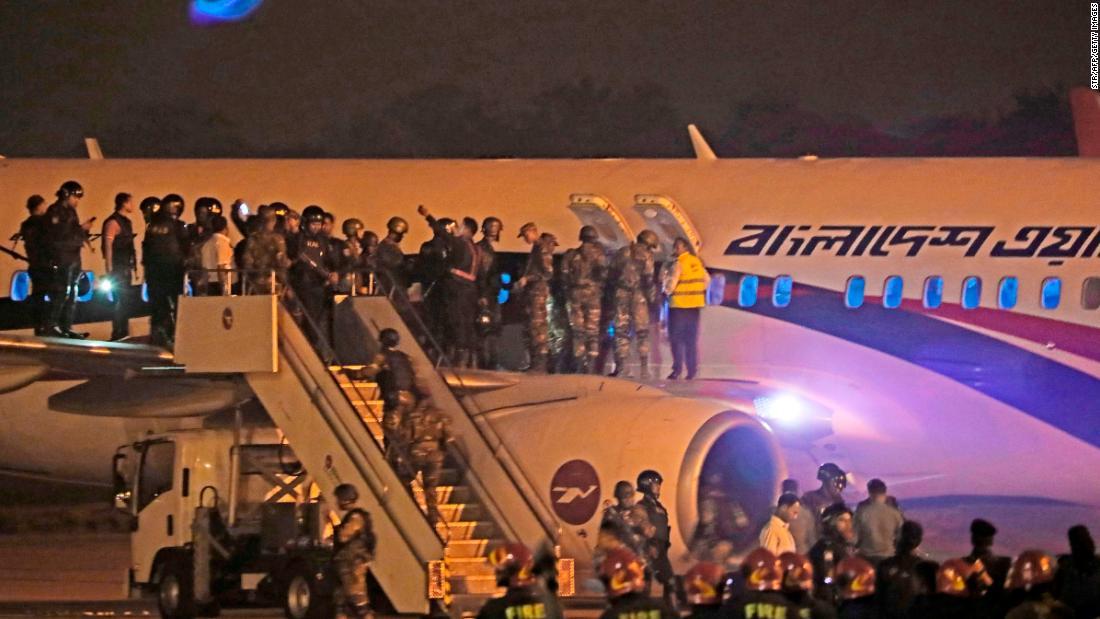 Image result for Dubai-bound Bangladesh plane hijacker shot dead