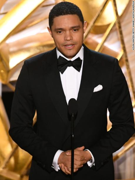 HOLLYWOOD, CALIFORNIA - FEBRUARY 24: Trevor Noah speaks onstage during the 91st Annual Academy Awards at Dolby Theatre on February 24, 2019 in Hollywood, California. (Photo by Kevin Winter/Getty Images)