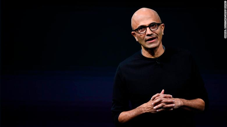 Microsoft CEO on trade, mixed reality and taking the long view