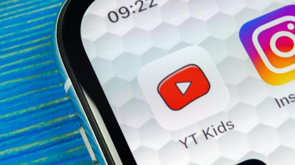 Sankt-Petersburg, Russia, June 20, 2018: YouTube kids application icon on Apple iPhone X smartphone screen close-up. Youtube kids app icon. Social media icon. Social network; Shutterstock ID 1116766706; Job: -