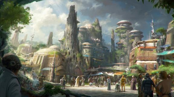 Star Wars: GalaxyÕs Edge will open in summer 2019 at Disneyland Park in Anaheim, California, and fall 2019 at Disney