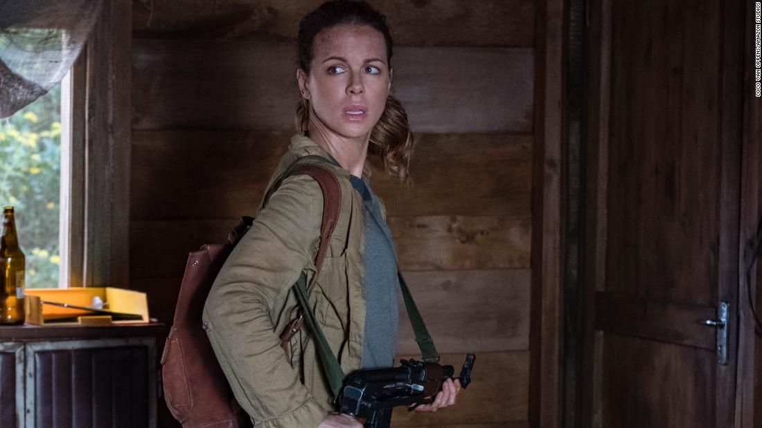 """""""The Widow"""" Season 1 : Kate Beckinsale stars in this series that follows Georgia, a woman who has lost everything including her husband, and will stop at nothing to uncover the truth."""