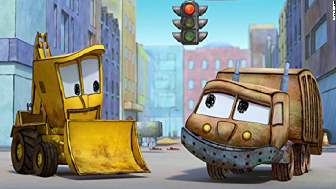 """""""The Stinky & Dirty Show"""" Season 2 : The series returns with the heroes continuing to lend a helpful hand (or wheel) to the vehicle residence of Go City, but with more silliness and play."""