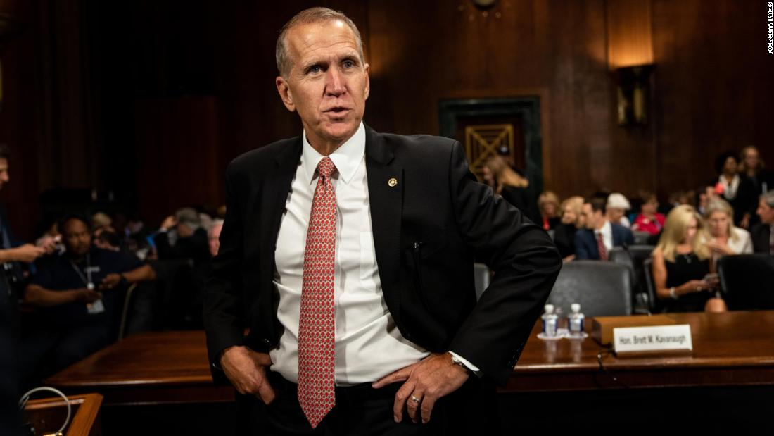 GOP Sen. Thom Tillis: Impeachment inquiry is 'a waste of resources' thumbnail