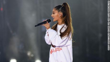 Ariana Grande, pictured here performing in the One Love Manchester benefit concert in June 2017, will headline Manchester Pride Live in August.