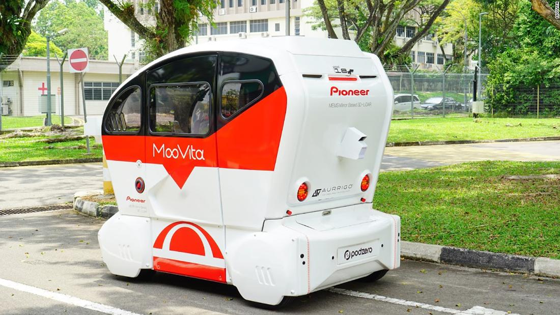 Inside Singapore's push into self-driving cars