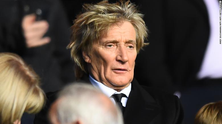 Rod Stewart says he has been left upset by Brendan Rodgers' impending departure.