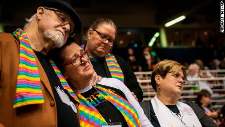 Fractured after vote against LGBT clergy, weddings, United Methodists face possible split