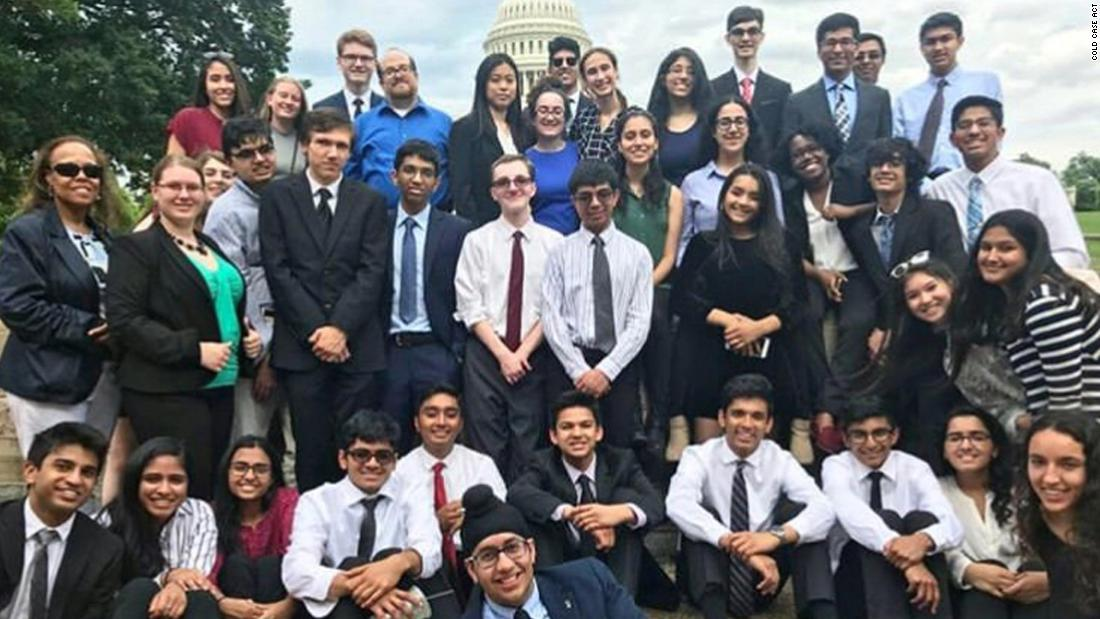 A high school government class wanted to help solve civil rights crimes. So they drafted a bill that is now law
