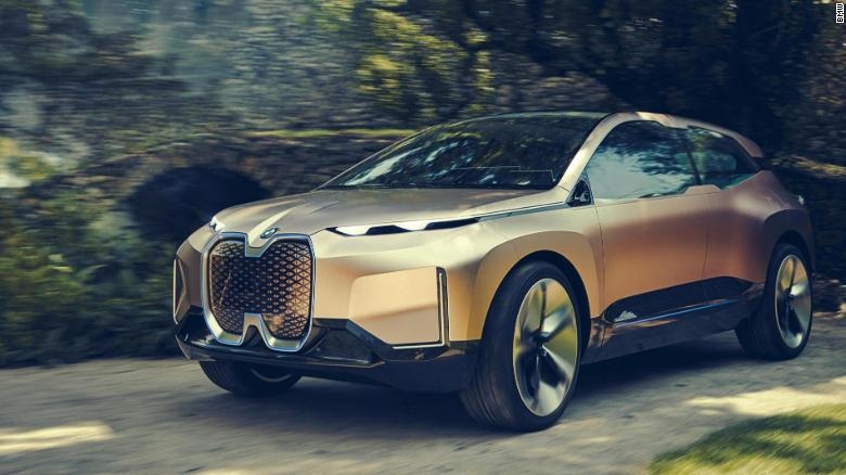 The BMW iNEXT model is due to hit the market in 2021