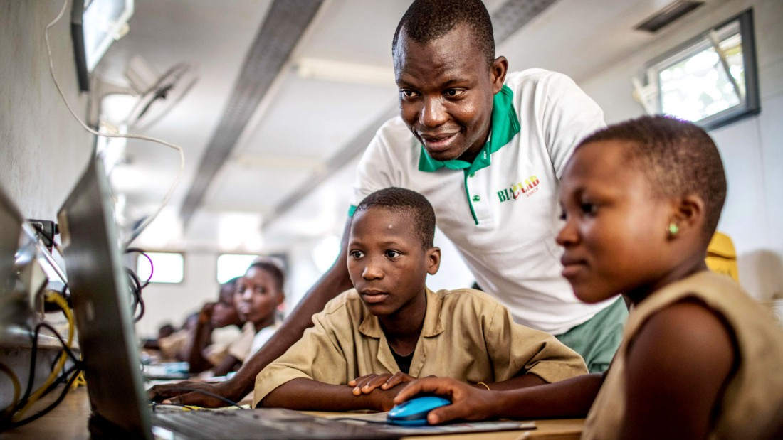 Only 24% of people in Africa use the internet. Tech investment can change their lives