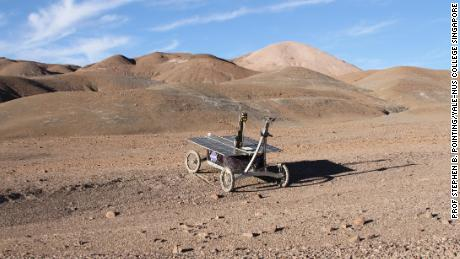 A trial NASA rover mission in the Mars-like Atacama Desert in Chile.