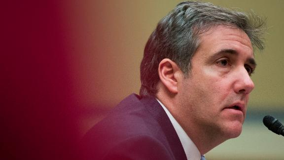 Michael Cohen, President Donald Trump's former lawyer, testifies before the House Oversight and Reform Committee, on Capitol Hill, Wednesday, Feb. 27, 2019, in Washington. (AP Photo/Alex Brandon)