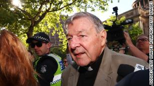 Cardinal George Pell sentenced to 6 years for child sex abuse