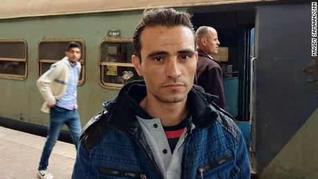 Mohamed Abdel Rahman tried to save lives after a deadly train accident in Cairo.