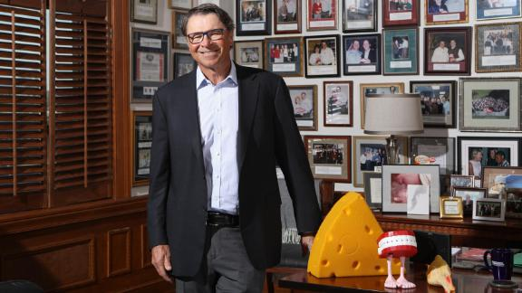 Former Yum! Brands CEO David Novak in his office at Yum! Brands' headquarters in Louisville, Kentucky.