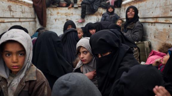 The last of the civilians under ISIS rule are shuttled to camps that can be described as internment camps.