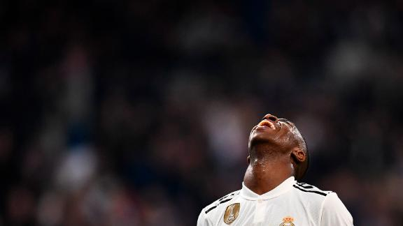 Brazilian forward Vinicius Junior has been the highlight in an otherwise disappointing season for Real.