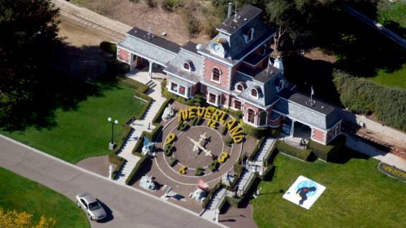 LOS OLIVOS, CA - NOVEMBER 18: Michael Jackson