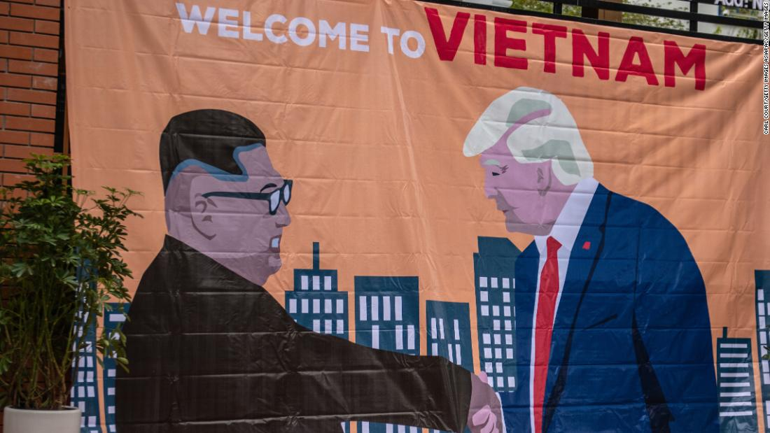 Hanoi Artists Draw Inspiration From Donald Trump And Kim