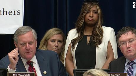Rep. Mark Meadows and Lynne Patton