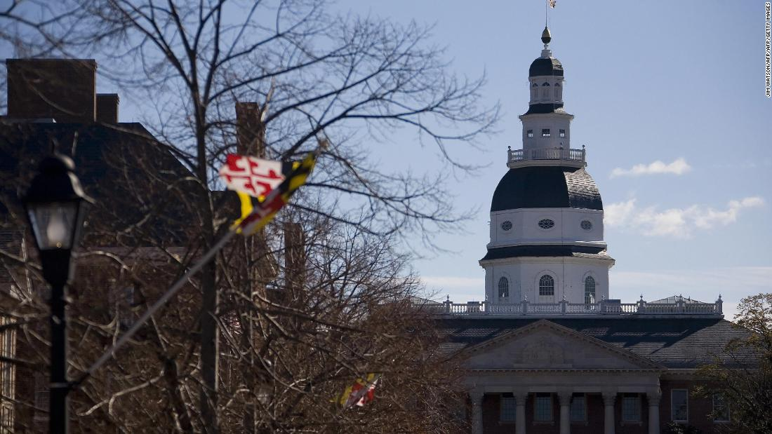 Maryland lawmakers override GOP governor's vetoes to enact police reform measures