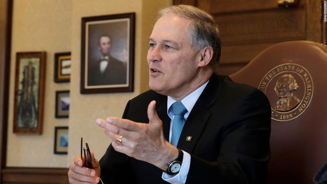 Washington Gov. Jay Inslee announces 2020 presidential bid