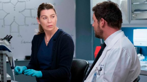 """Ellen Pompeo stars as Dr. Meredith Grey on ABC's long-running series """"Grey's Anatomy."""""""