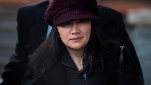 Huawei chief financial officer Meng Wanzhou, who is out on bail and remains under partial house arrest after she was detained December 1 at the behest of American authorities, leaves her home to attend a court appearance regarding her bail conditions, in Vancouver, British Columbia, Tuesday January 29, 2019.
