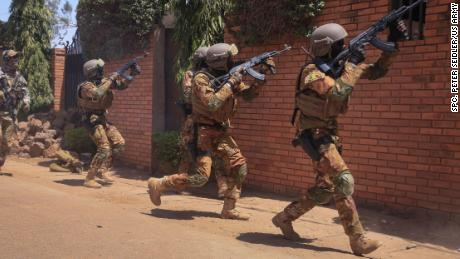 US special forces train troops in African nation facing twin terror