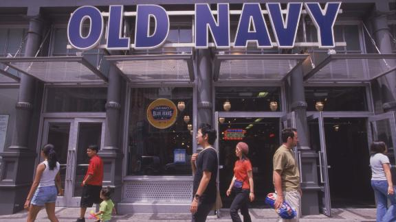 Old Navy, which opened its first stores in 1994, made $1 billion in sales in its first four years by hawking trendy, low-priced clothes for parents and kids.