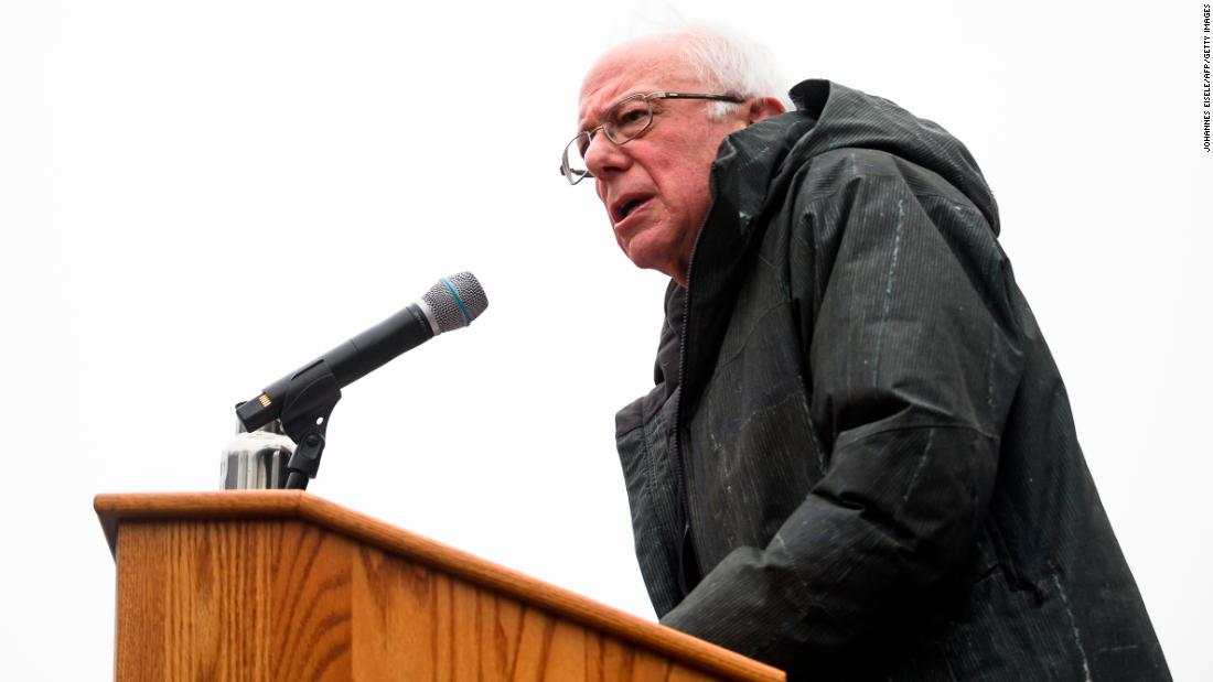 Bernie Sanders in the 1970s urged nationalization of most major industries