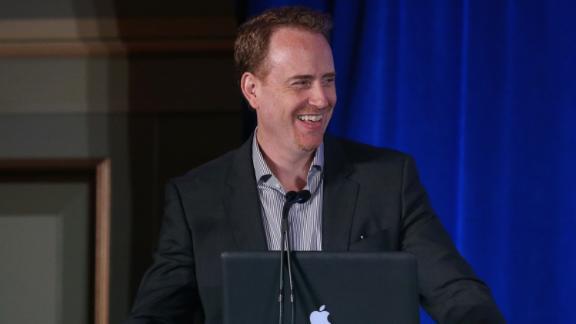 Robert Greenblatt speaks onstage during the