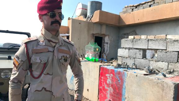On the foothills of the Hamrin Mountains, Iraqi security forces are increasing the number of checkpoints and military outposts along roads.