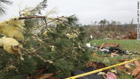 At least 23 people have died as a result of the tornadoes.
