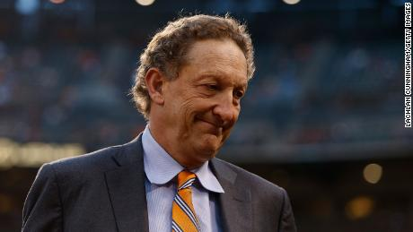 San Francisco Giants president and CEO Larry Baer.