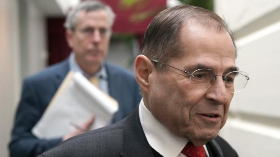U.S. Rep. Jerrold Nadler (D-NY) arrives at a House Democratic Caucus meeting at the U.S. Capitol January 9, 2019 in Washington, DC. House Democrats gathered to discuss Democratic agenda as the partial government shutdown enters day 19th.