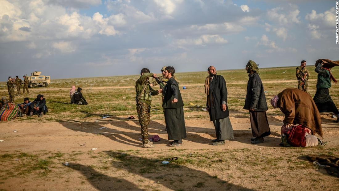We need a long-term solution for captured ISIS members