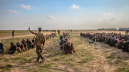 500 ISIS fighters surrender in group's last Syrian enclave