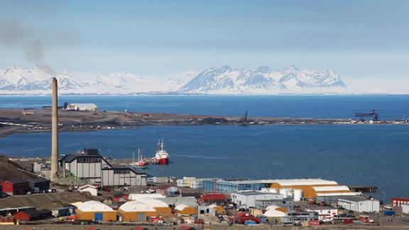 Longyearbyen is the world's northernmost town.