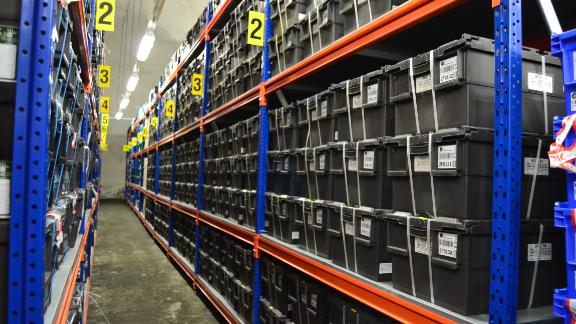 Nearly a million seed samples are stored in the Svalbard Global Seed Vault.