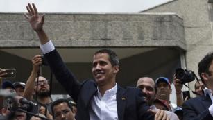 Venezuelan intelligence agents raid homes of Juan Guaido's top aides, opposition says