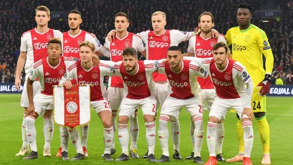 Ajax is competing in this season