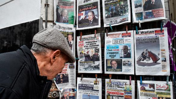 Bouteflika's intention to run for a fifth term despite health issues has dominated headlines and sparked mixed emotions in Algeria.