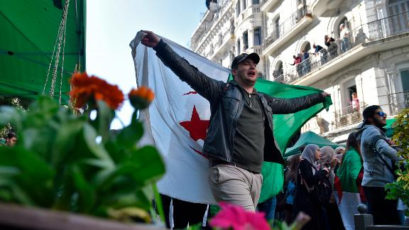 Algerians returned to the streets of the capital on Tuesday.