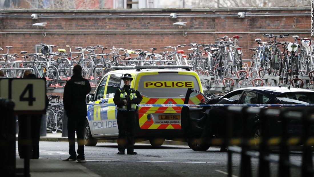 Explosive device found in Ireland linked to those sent to UK, say London's Met Police